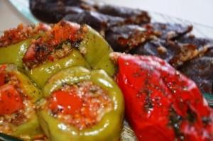 Gefüllte Paprika nach türkischer Art
